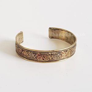 image of three metal bracelet