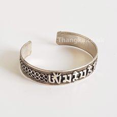 image of tibetan metal bracelet