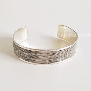 image of tibetan metal cuff bracelet