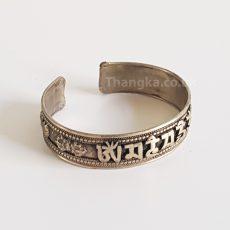 Mani metal tibetan bracelet