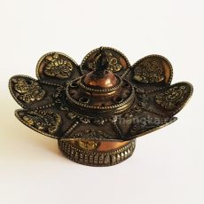 Ornate tibetan incense holder burner