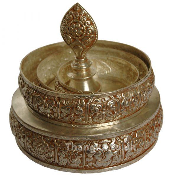 Mandala offering set unassembled