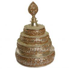 Mandala Offering Set - example of assembled mandala set