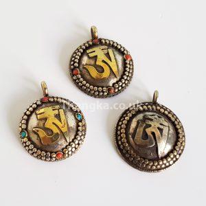 Om tibetan pendant