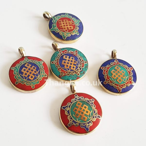 selection of turquoise pendants