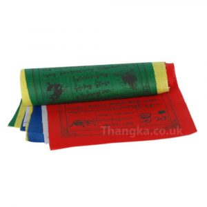 Lungta Windhorse Print Tibetan prayer flag roll