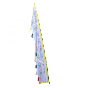 Vertical Tibetan Prayer Flag DharChen