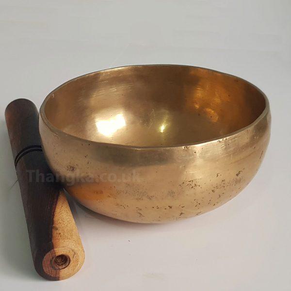 tibetan plain singing bowl