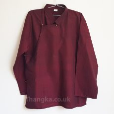 Maroon traditional tibetan shirt uk