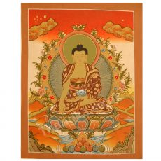 image of buddha thangka