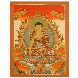 image of buddha thangka