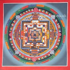 image of kalachakra mandala