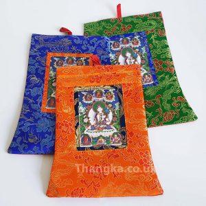 image of mini framed thangkas